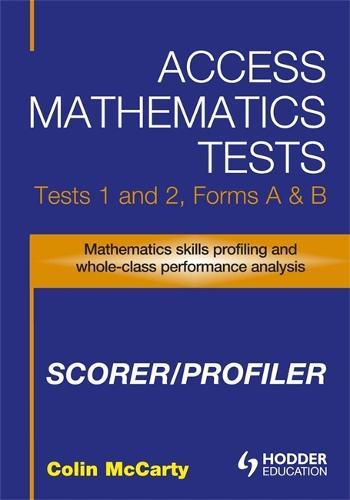 Access Mathematics Tests (AMT) 1 & 2 Scorer/Profiler CD-ROM (CD-Audio)