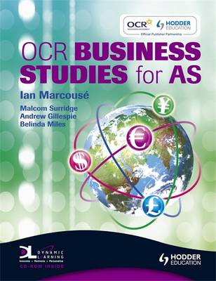 OCR Business Studies for AS (Paperback)
