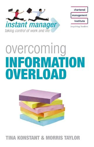 Instant Manager: Overcoming Information Overload - IMC (Paperback)