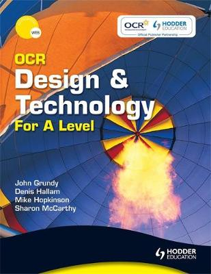 OCR Design and Technology for A Level (Paperback)