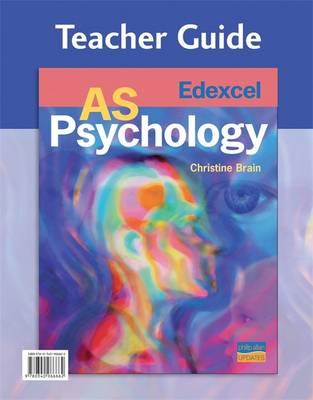 Edexcel AS Psychology Teacher Guide (+ CD) (Spiral bound)