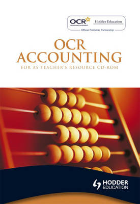 OCR Accounting for AS: Teacher's Resource (CD-Audio)