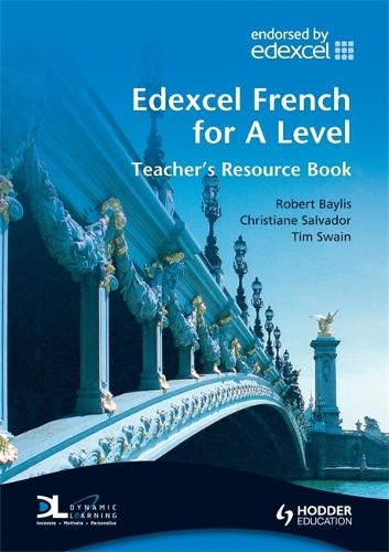Edexcel French for A Level Teacher's Book - EAML (Hardback)