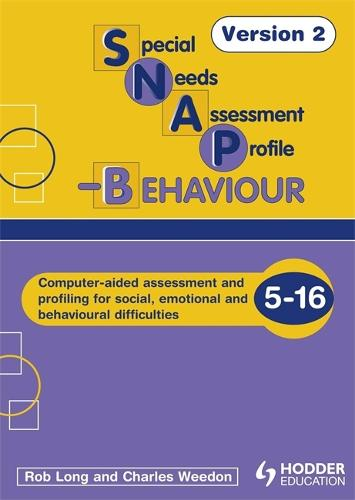 SNAP-B CD-ROM V2 (Special Needs Assessment Profile-Behaviour) - SNAP (CD-Audio)