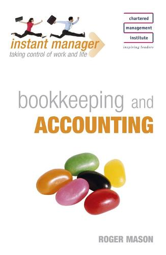 Instant Manager: Bookkeeping and Accounting - IMC (Paperback)