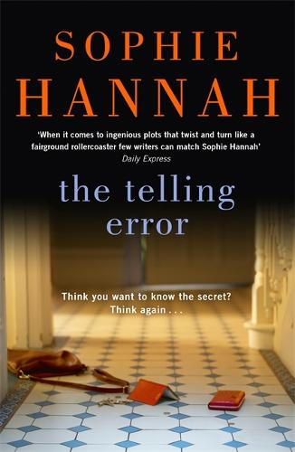 The Telling Error: Culver Valley Crime Book 9 (Hardback)