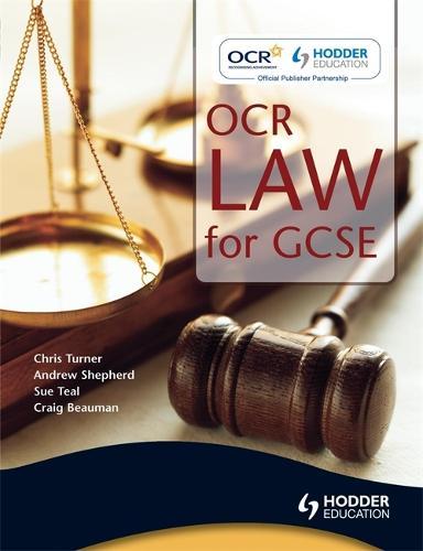 OCR Law for GCSE (Paperback)