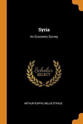 Syria: An Economic Survey (Paperback)