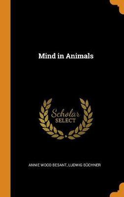 Mind in Animals (Hardback)
