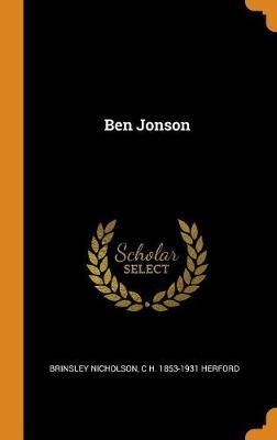 Ben Jonson (Hardback)