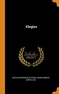 Elegies (Hardback)