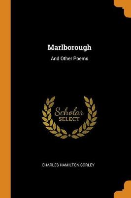 Marlborough: And Other Poems (Paperback)