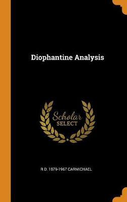 Diophantine Analysis (Hardback)