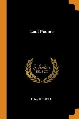 Last Poems (Paperback)