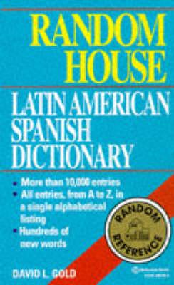 Random House Latin American Spanish Dictionary (Paperback)