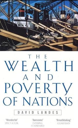 Wealth And Poverty Of Nations (Paperback)