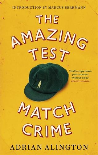 The Amazing Test Match Crime (Paperback)