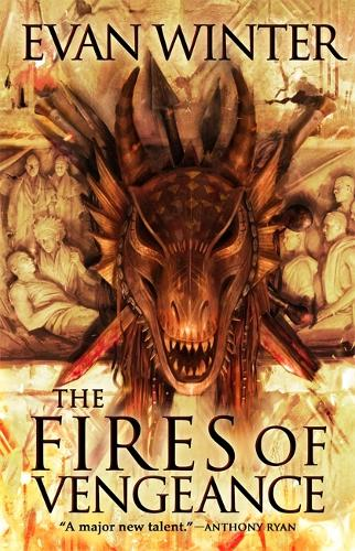 The Fires of Vengeance: The Burning, Book Two - The Burning (Hardback)