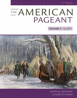 The American Pageant, Volume 1 (Paperback)