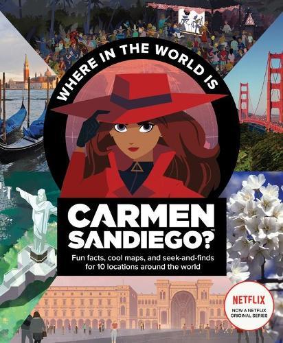 Carmen Sandiago: Where in the World Is Carmen Sandiego? (Paperback)