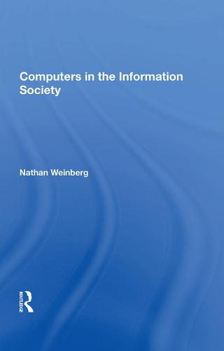 Computers In The Information Society (Hardback)
