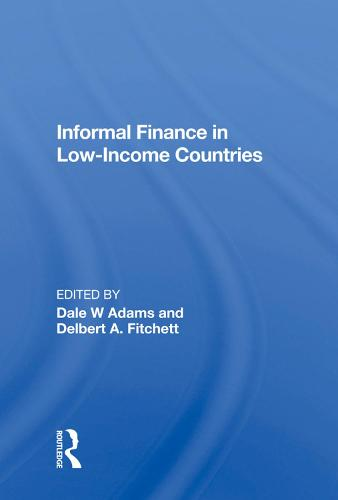 Informal Finance in Low-Income Countries (Hardback)