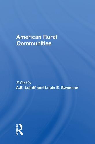American Rural Communities (Hardback)