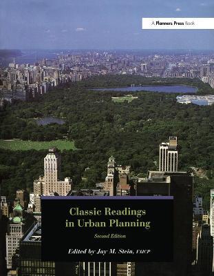 Classic Readings in Urban Planning (Hardback)