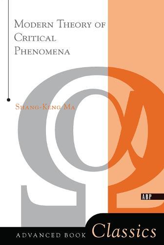 Modern Theory Of Critical Phenomena (Hardback)