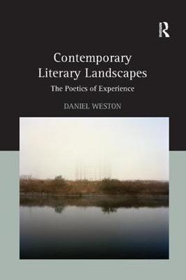 Contemporary Literary Landscapes: The Poetics of Experience (Paperback)