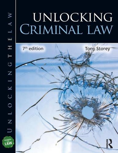 Unlocking Criminal Law - Unlocking the Law (Paperback)