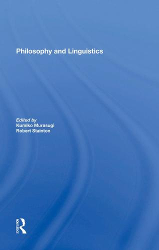 Philosophy And Linguistics (Hardback)