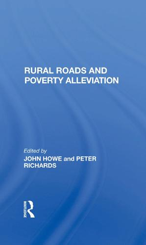 Rural Roads And Poverty Alleviation (Hardback)