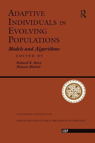 Adaptive Individuals In Evolving Populations: Models And Algorithms (Hardback)