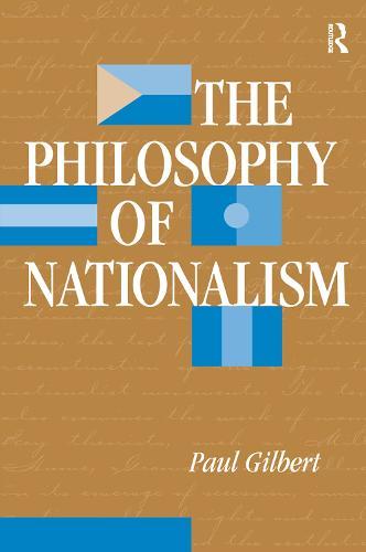 The Philosophy Of Nationalism (Hardback)