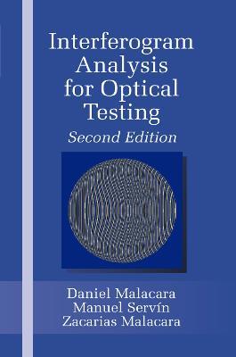 Interferogram Analysis For Optical Testing (Paperback)