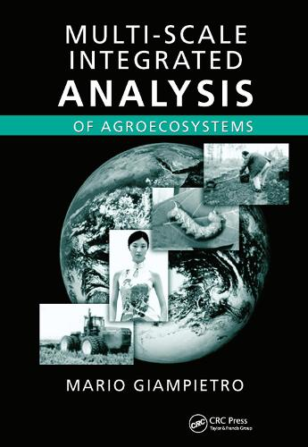 Multi-Scale Integrated Analysis of Agroecosystems (Paperback)