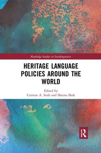 Heritage Language Policies around the World (Paperback)