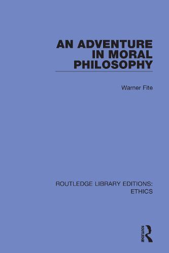 An Adventure In Moral Philosophy (Hardback)