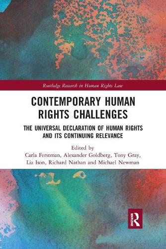 Contemporary Human Rights Challenges: The Universal Declaration of Human Rights and its Continuing Relevance (Paperback)