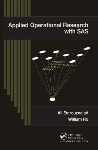 Applied Operational Research with SAS (Paperback)