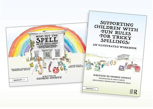 Supporting Children with Fun Rules for Tricky Spellings: An Illustrated Storybook and Workbook SET (Paperback)