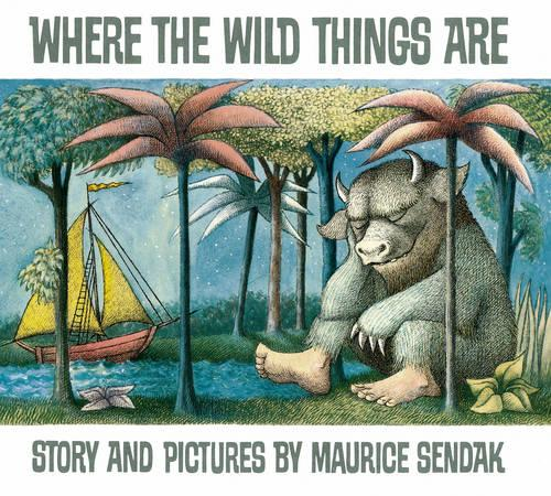 Cover of the book, Where the Wild Things Are.