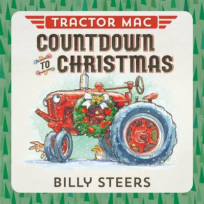 Tractor MAC Countdown to Christmas (Board book)