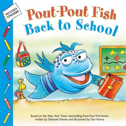 Pout-Pout Fish: Back to School - A Pout-Pout Fish Paperback Adventure (Paperback)