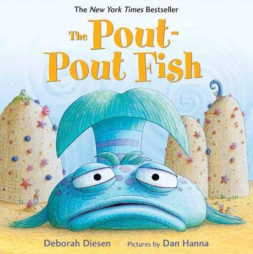The Pout-Pout Fish - Pout Pout Fish,Pout Pout Fish (Board book)