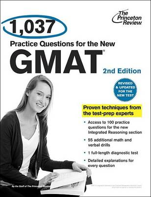 1,112 Practice Questions For The New Gmat, 2Nd Edition (Paperback)