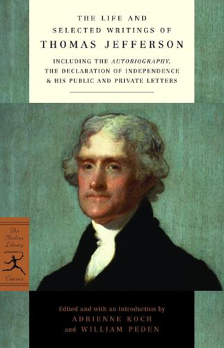 Life & Selected Writing Jefferson (Paperback)