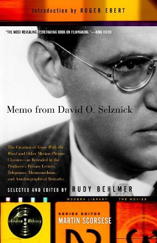 Memo From David O Selznick (Paperback)