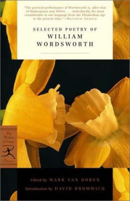 Mod Lib Selected Poetry William Wordsworth (Paperback)